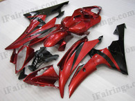 OEM quality fairings and body kits for 2008 2009 2010 2011 2012 2013 Yamaha YZF-R6 with red and black color scheme/graphics, these fairing kits are oem quality, fast shipping and easy installtion. More factory color-matched fairings for YZF-R6 2008 2009 2010 2011 2012 2013, team race replica fairings and custom fairing sets for Yamaha YZF-R6 2008 2009 2010 2011 2012 2013, please browse iFairings.com.