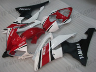 OEM quality fairings and body kits for 2008 2009 2010 2011 2012 2013 Yamaha YZF-R6 with factory color scheme/graphics, these fairing kits are oem quality, fast shipping and easy installtion. More factory color-matched fairings for YZF-R6 2008 2009 2010 2011 2012 2013, team race replica fairings and custom fairing sets for Yamaha YZF-R6 2008 2009 2010 2011 2012 2013, please browse iFairings.com.
