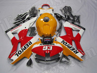 Honda Repsol Edition Fairing Kit for 2013 2014 2015 2016 Honda CBR600RR, Honda OEM replacement fairing in repsol graphics.