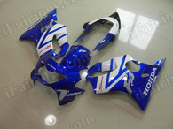 aftermarket fairings and bodywork for Honda CBR600 F4 1999 2000, this motorcycle fairings are replacement plastic with various graphics,  they are top quality and oem fairing quality comparable. All the bodywork panels are pre-drilled and 100% precise fit factory bike.