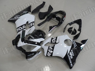 aftermarket fairings and bodywork for Honda CBR600 F4i 2001 2002 2003, this motorcycle fairings are replacement plastic with various graphics,  they are top quality and oem fairing quality comparable. All the bodywork panels are pre-drilled and 100% precise fit factory bike.
