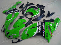 aftermarket fairings and bodywork for 2007 2008 Kawasaki Ninja ZX6R, this motorcycle fairings are replacement plastic with various graphics,  they are top quality and oem fairing quality comparable. All the bodywork panels are pre-drilled and 100% precise fit factory bike.