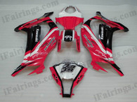 aftermarket fairings and bodywork for 2011 to 2015 Kawasaki Ninja ZX10R, this motorcycle fairings are replacement plastic with various graphics,  they are top quality and oem fairing quality comparable. All the bodywork panels are pre-drilled and 100% precise fit factory bike.