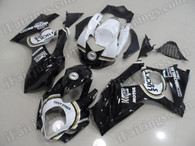 aftermarket fairings and bodywork for 2007 2008 Suzuki GSXR 1000, this motorcycle fairings are replacement plastic with various graphics,  they are top quality and oem fairing quality comparable. All the bodywork panels are pre-drilled and 100% precise fit factory bike.