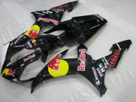 OEM quality fairings and body kits for 2002 2003 Yamaha YZF-R1 with orange and black color scheme/graphics, these fairing kits are oem quality, fast shipping and easy installtion. More factory color-matched fairings for YZF-R1 2002 2003, team race replica fairings and custom fairing sets for Yamaha YZF-R1 2002 2003, please browse iFairings.com.