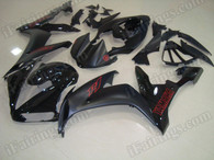 aftermarket fairings and bodywork for 2004 2005 2006 Yamaha YZF R1, this motorcycle fairings are replacement plastic with various graphics,  they are top quality and oem fairing quality comparable. All the bodywork panels are pre-drilled and 100% precise fit factory bike.