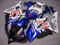Yamaha YZF-R6 2008 to 2012 candy red fairing kits, this Yamaha YZF-R6 2008 to 2012 plastics was applied in candy redgraphics, this 2008 to 2012 YZF-R6 fairing set comes with the both color and decals shown as the photo.If you want to do custom fairings for YZF-R6 2008 to 2012,our talented airbrusher will custom it for you.