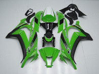 aftermarket fairings and bodywork for 2011 to 2015 Kawasaki Ninja ZX10R, this motorcycle fairings are replacement plastic with various graphics,  they are top quality and o.e.m fairing quality comparable. All the bodywork panels are pre-drilled and 100% precise fit factory bike.