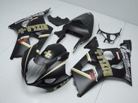 OEM quality fairings and body kits for 2003 2004 Suzuki GSXR1000 with Yoshiruma color scheme/graphics, these fairing kits are oem quality, fast shipping and easy installtion. More factory color-matched fairings for GSXR1000 2003 2004, team race replica fairings and custom fairing sets for Suzuki GSXR1000 2003 2004, please browse iFairings.com.