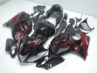 aftermarket fairings and bodywork for 2008 to 2014 Suzuki Hayabusa GSXR 1300, this motorcycle fairings are replacement plastic with various graphics,  they are top quality and oem fairing quality comparable. All the bodywork panels are pre-drilled and 100% precise fit factory bike.