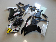 aftermarket fairings and bodywork for 2013 2014 Honda CBR500R in gold/black color. CBR500R 2013/2014/2015 replacement fairings/body kits with bright gold/black finish, injection molded and pre-drilled, ready for installation.
