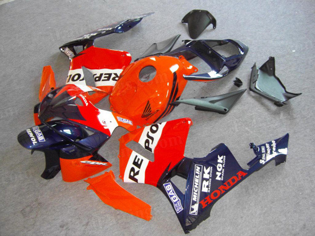 2005 2006 Honda Cbr600rr Repsol Graphic Fairings