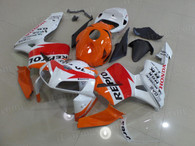 aftermarket fairings and bodywork for Honda CBR600RR 2005 2006, this motorcycle fairings are replacement plastic with various graphics,  they are top quality and oem fairing quality comparable. All the bodywork panels are pre-drilled and 100% precise fit factory bike.