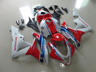 aftermarket fairings and bodywork for Honda CBR600RR 2007 2008, this motorcycle fairings are replacement plastic with various graphics,  they are top quality and oem fairing quality comparable. All the bodywork panels are pre-drilled and 100% precise fit factory bike.