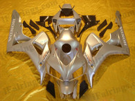 Honda CBR1000RR 2006 2007 silver fairing kits, this Honda CBR1000RR 2006 2007 plastics was applied in silvergraphics, this 2006 2007 CBR1000RR fairing set comes with the both color and decals shown as the photo.If you want to do custom fairings for CBR1000RR 2006 2007,our talented airbrusher will custom it for you