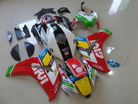 aftermarket fairings and bodywork for Honda CBR1000RR 2008 2009 2010 2011, this motorcycle fairings are replacement plastic with various graphics,  they are top quality and oem fairing quality comparable. All the bodywork panels are pre-drilled and 100% precise fit factory bike.