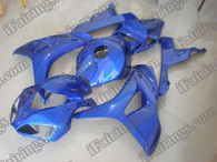 Honda CBR1000RR 2006 2007 candy blue fairing kits, this Honda CBR1000RR 2006 2007 plastics was applied in candy bluegraphics, this 2006 2007 CBR1000RR fairing set comes with the both color and decals shown as the photo.If you want to do custom fairings for CBR1000RR 2006 2007,our talented airbrusher will custom it for you.