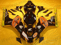 Honda CBR1000RR 2006 2007 Eurobet fairing kits, this Honda CBR1000RR 2006 2007 plastics was applied in Eurobetgraphics, this 2006 2007 CBR1000RR fairing set comes with the both color and decals shown as the photo.If you want to do custom fairings for CBR1000RR 2006 2007,our talented airbrusher will custom it for you.