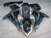 OEM quality fairings and body kits for 2008 2009 2010 2011 Honda CBR1000RR with grey and silver color scheme/graphics, these fairing kits are oem quality, fast shipping and easy installtion. More factory color-matched fairings for CBR1000RR 2008 2009 2010 2011, team race replica fairings and custom fairing sets for Honda CBR1000RR 2008 2009 2010 2011, please browse iFairings.com.
