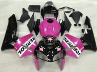 2005 2006 Honda CBR600RR pink repsol fairing kit