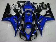 2006 2007 Honda CBR1000RR blue and black fairing kit for sale. All CBR1000RR 2006 2007 fairing pieces are injected and perfect fit the bikes.
