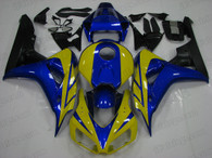 2006 2007 Honda CBR1000RR blue/yellow fairing kits.