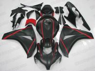 2008 2009 2010 2011 Honda CBR1000RR matte black fairings.