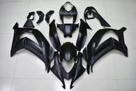 2016 2017 Kawasaki ZX-10R matte black fairings and body kits.