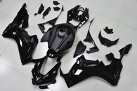 2017 2018 Honda CBR1000RR Fireblade oem replacement fairings in black color
