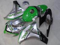 2008 2009 2010 2011 Honda CBR1000RR Silver/Green fairing kit
