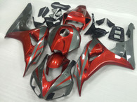 2006 2007 Honda CBR1000RR Red/Grey fairings.