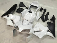 2003 2004 Honda CBR600RR white and black graphic fairing kits, aftermarket fairings and bodywork for 2003 2004 Honda CBR600RR white and black pattern/scheme.