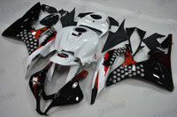 2007 2008 Honda CBR600RR Honda Limited Edition graphic fairing kits, aftermarket fairings and bodywork for 2007 2008 Honda CBR600RR Honda Limited Edition pattern/scheme.