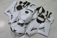2012 to 2016 2017 Honda CBR600RR matte white graphic fairing kits, aftermarket fairings and bodywork for 2012 to 2016 2017 Honda CBR600RR matte white pattern/scheme.
