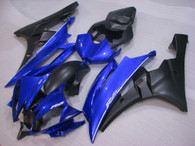 2006 2007 Yamaha R6 blue and black fairing kit