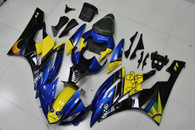 2006 2007 Yamaha R6 rossi agv shark pattern fairings
