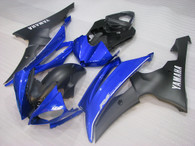 2008 to 2016 Yamaha R6 black and blue fairings