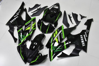 2008 to 2016 Yamaha R6 gloss black fairing kit