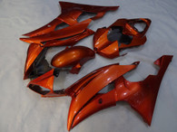 2008 to 2016 Yamaha R6 orange fairing kit