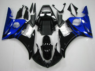 2003 2004 2005 Yamaha R6 blue and black fairings and body kits,  2003 2004 2005 Yamaha R6 OEM body plastic cover