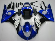 2003 2004 2005 Yamaha R6 blue and black bodywork
