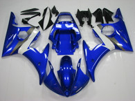 2003 2004 2005 Yamaha R6 blue fairings