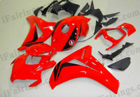 Honda CBR1000RR 2008 2009 2010 2011 red fairing kits, this Honda CBR1000RR 2008 2009 2010 2011 plastics was applied in redgraphics, this 2008 2009 2010 2011 CBR1000RR fairing set comes with the both color and decals shown as the photo.If you want to do custom fairings for CBR1000RR 2008 2009 2010 2011,our talented airbrusher will custom it for you.