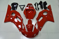 1999 2000 2001 2002 Yamaha R6 all red fairing kit