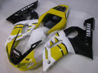 1999 2000 2001 2002 Yamaha R6 yellow and black fairings and bodywork