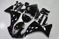 2012 2013 2014 Yamaha R1 gloss black fairings and body kits