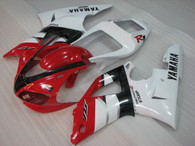 2000 2001 Yamaha R1 red and white fairings.