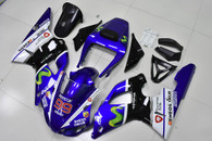 1998 1999 Yamaha R1 Movistar scheme fairings