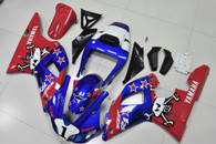 1998 1999 Yamaha R1 custom scheme fairings.