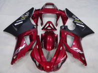 1998 1999 Yamaha R1 red and black fairings.